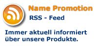 RSS Feed Namensschilder
